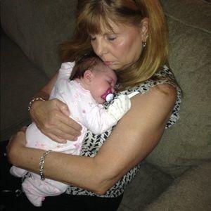 Me & my precious granddaughter Hope. Pure ❤️ Love.